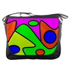 Abstract Messenger Bag by Siebenhuehner