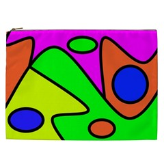 Abstract Cosmetic Bag (xxl) by Siebenhuehner