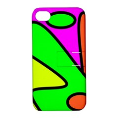 Abstract Apple Iphone 4/4s Hardshell Case With Stand by Siebenhuehner