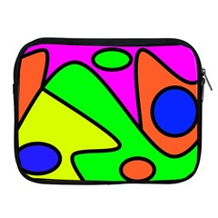 Abstract Apple Ipad Zippered Sleeve by Siebenhuehner