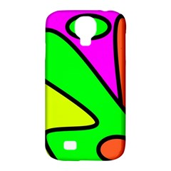 Abstract Samsung Galaxy S4 Classic Hardshell Case (pc+silicone) by Siebenhuehner