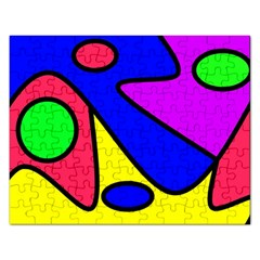 Abstract Jigsaw Puzzle (rectangle) by Siebenhuehner