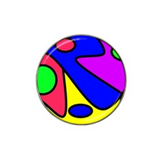 Abstract Golf Ball Marker (for Hat Clip) by Siebenhuehner