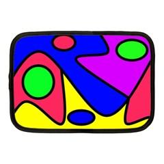 Abstract Netbook Sleeve (medium) by Siebenhuehner