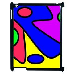 Abstract Apple Ipad 2 Case (black) by Siebenhuehner