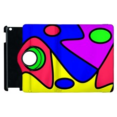 Abstract Apple Ipad 3/4 Flip 360 Case by Siebenhuehner