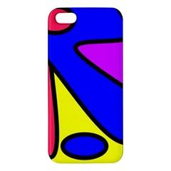 Abstract Iphone 5s Premium Hardshell Case by Siebenhuehner