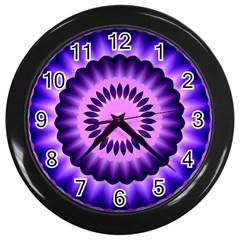 Mandala Wall Clock (black) by Siebenhuehner