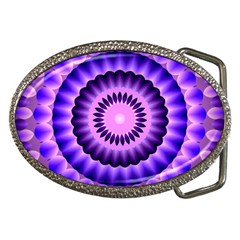 Mandala Belt Buckle (oval) by Siebenhuehner