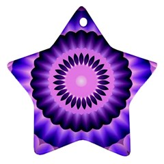 Mandala Star Ornament (two Sides) by Siebenhuehner