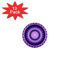 Mandala 1  Mini Button (10 Pack) by Siebenhuehner