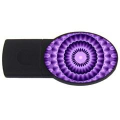 Mandala 2gb Usb Flash Drive (oval) by Siebenhuehner