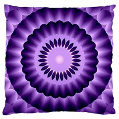 Mandala Large Cushion Case (two Sided)  by Siebenhuehner