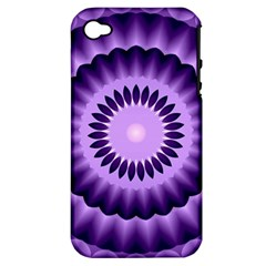 Mandala Apple Iphone 4/4s Hardshell Case (pc+silicone) by Siebenhuehner