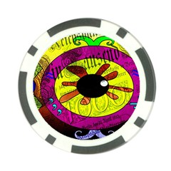 Abstract Poker Chip by Siebenhuehner