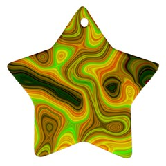 Abstract Star Ornament by Siebenhuehner