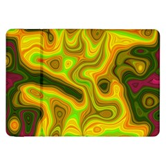 Abstract Samsung Galaxy Tab 8 9  P7300 Flip Case