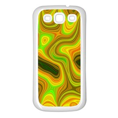 Abstract Samsung Galaxy S3 Back Case (white) by Siebenhuehner
