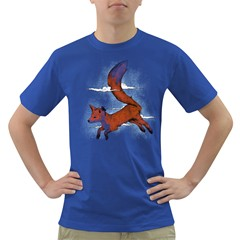 Riding The Great Red Fox Mens' T Shirt (colored) by Contest1807839