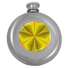 Abstract Hip Flask (round) by Siebenhuehner