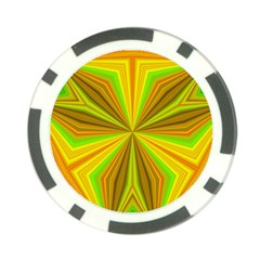 Abstract Poker Chip (10 Pack) by Siebenhuehner