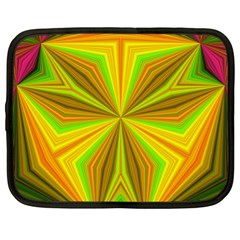 Abstract Netbook Sleeve (xl) by Siebenhuehner