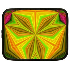 Abstract Netbook Sleeve (xxl) by Siebenhuehner