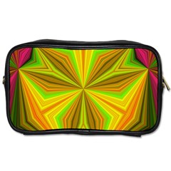 Abstract Travel Toiletry Bag (two Sides) by Siebenhuehner