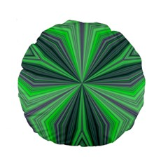 Abstract 15  Premium Round Cushion  by Siebenhuehner