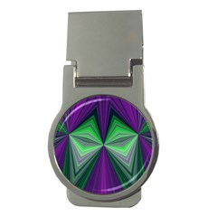 Abstract Money Clip (round) by Siebenhuehner