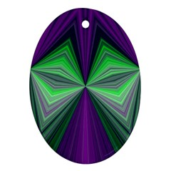 Abstract Oval Ornament (two Sides) by Siebenhuehner