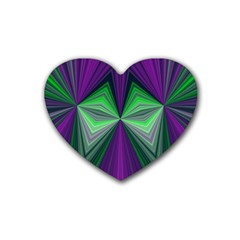 Abstract Drink Coasters (heart) by Siebenhuehner