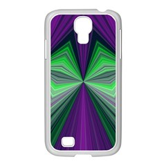 Abstract Samsung Galaxy S4 I9500/ I9505 Case (white) by Siebenhuehner