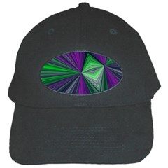 Abstract Black Baseball Cap by Siebenhuehner