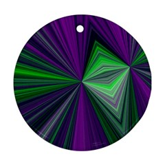 Abstract Round Ornament (two Sides) by Siebenhuehner