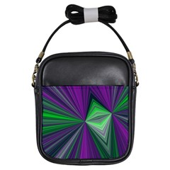 Abstract Girl s Sling Bag by Siebenhuehner