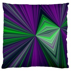 Abstract Large Cushion Case (two Sided)  by Siebenhuehner