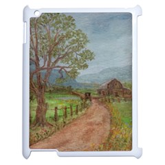 amish Buggy Going Home  By Ave Hurley Of Artrevu   Apple Ipad 2 Case (white)