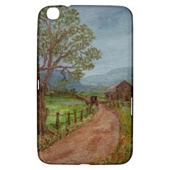 amish Buggy Going Home  By Ave Hurley Of Artrevu   Samsung Galaxy Tab 3 (8 ) T3100 Hardshell Case  by ArtRave2