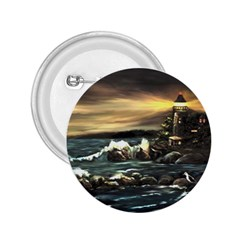 Bridget s Lighthouse   by Ave Hurley of ArtRevu ~ 2.25  Button