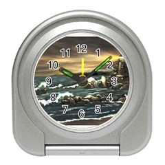 bridget s Lighthouse   By Ave Hurley Of Artrevu   Travel Alarm Clock