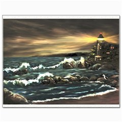 bridget s Lighthouse   By Ave Hurley Of Artrevu   Canvas 11  X 14  by ArtRave2