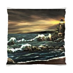 bridget s Lighthouse   By Ave Hurley Of Artrevu   Standard Cushion Case (two Sides) by ArtRave2