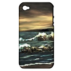 bridget s Lighthouse   By Ave Hurley Of Artrevu   Apple Iphone 4/4s Hardshell Case (pc+silicone) by ArtRave2