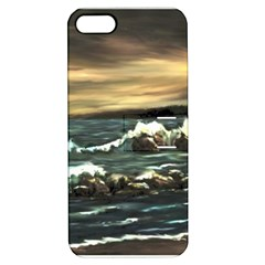 bridget s Lighthouse   By Ave Hurley Of Artrevu   Apple Iphone 5 Hardshell Case With Stand by ArtRave2