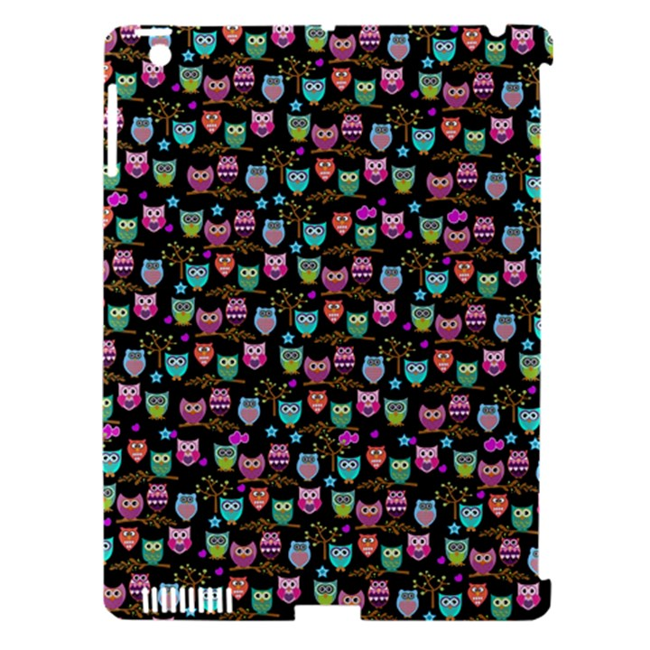 Happy owls Apple iPad 3/4 Hardshell Case (Compatible with Smart Cover)