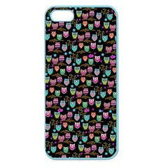 Happy Owls Apple Seamless Iphone 5 Case (color) by Ancello
