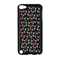 Happy Owls Apple Ipod Touch 5 Case (black) by Ancello