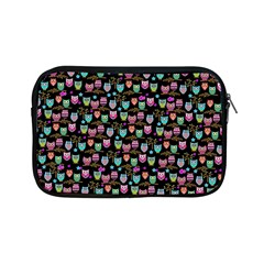Happy Owls Apple Ipad Mini Zippered Sleeve by Ancello