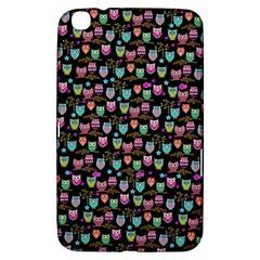 Happy Owls Samsung Galaxy Tab 3 (8 ) T3100 Hardshell Case  by Ancello